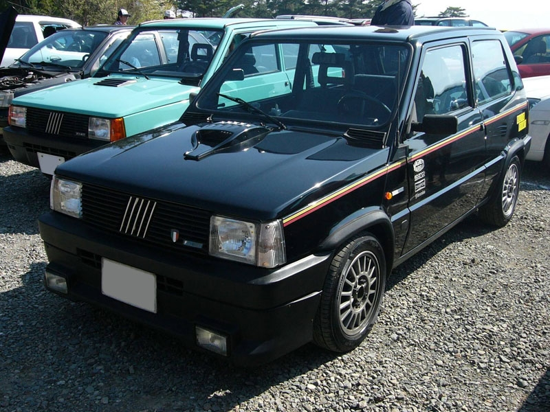 some cool fiat pandas from japan retro rides. Black Bedroom Furniture Sets. Home Design Ideas